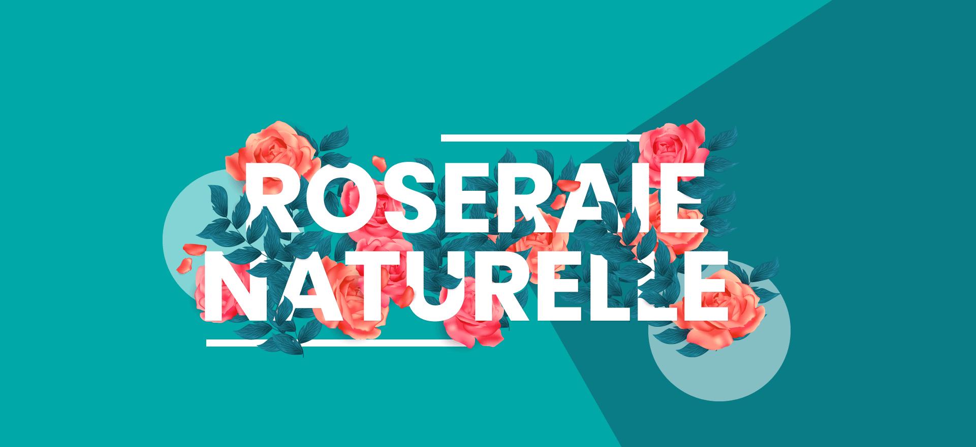 Roseraie naturelle - Les Chemins de la Rose