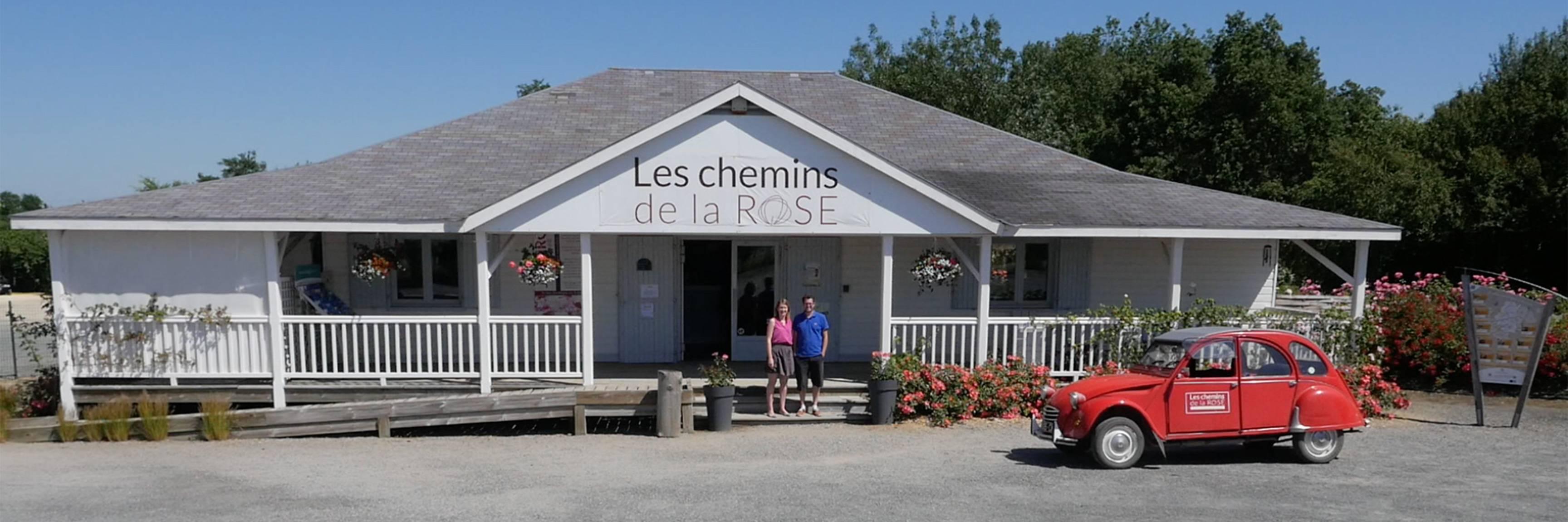 Boutique Les chemins de la rose à Doué-la-Fontaine