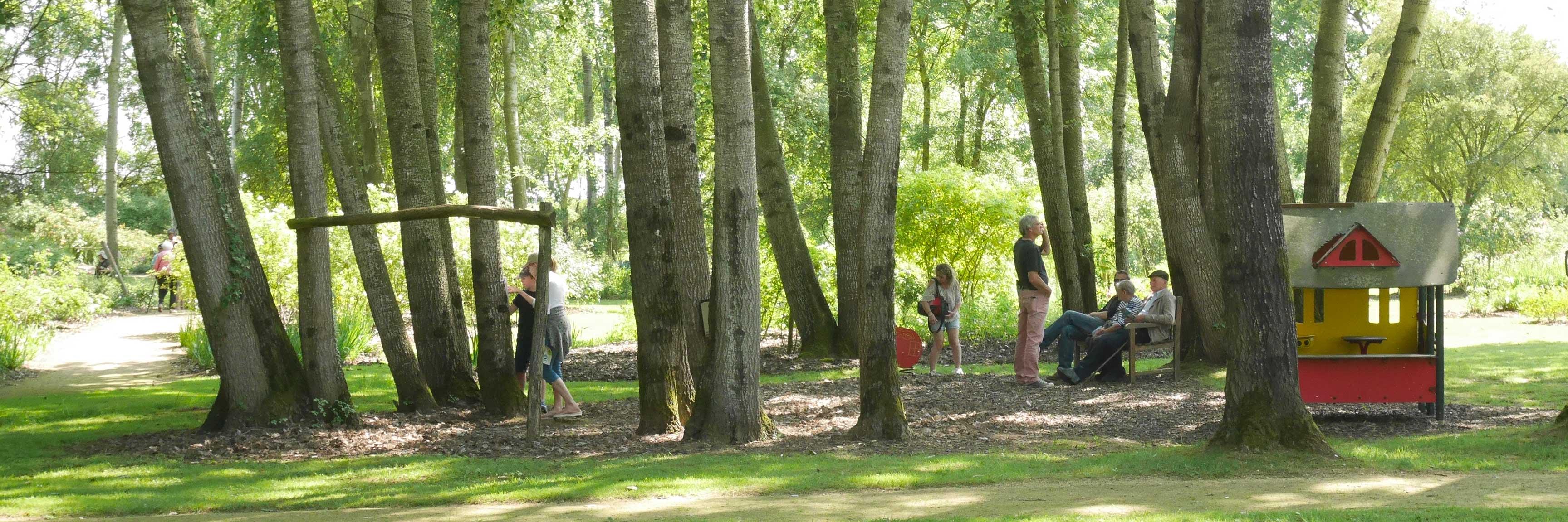 Visitez la roseraie de Doué-la-Fontaine