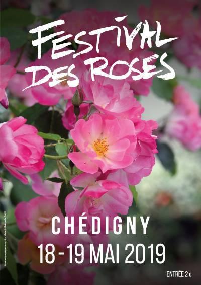 Festival des roses à Chédigny les 18 et 19 mai 2019