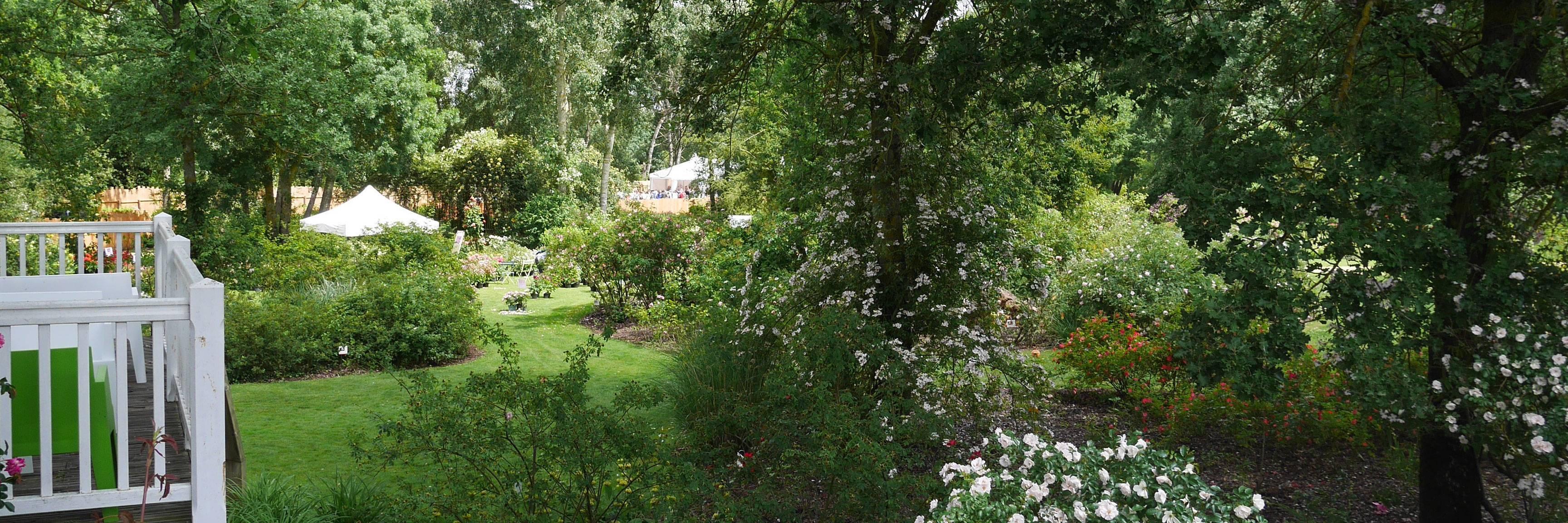 Espace réception au jardin des roses à Doué-la-Fontaine